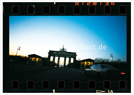 Postkarte GS-133 / Berlin-Brandenburger Tor