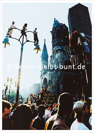 Postkarte GS-178 / Berlin - Love Parade