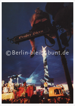 Postkarte GS-157 / Berlin - Love Parade