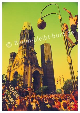 Postkarte GS-125 / Berlin - Love Parade