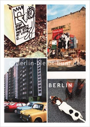 Postcard GS- 208 / Berlin