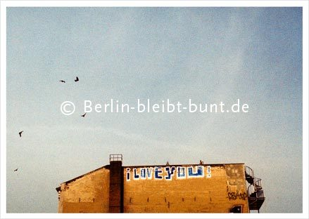 Postkarte GS-206 /Berlin - From Berlin with Love