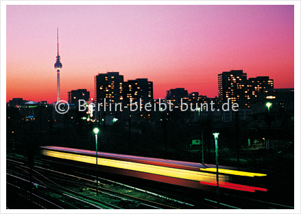 Postcard GS- 185/ Berlin - Skyline
