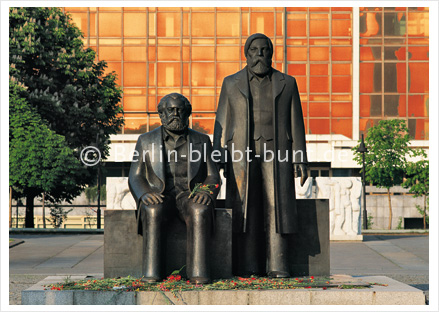 Postkarte GS-109 / Berlin-Marx-Engels Forum