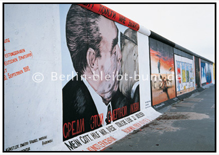 postcard GS- 187 / Berlin - East side gallery