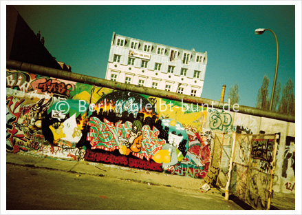 Postkarte GS-147 / Berlin - East side gallery