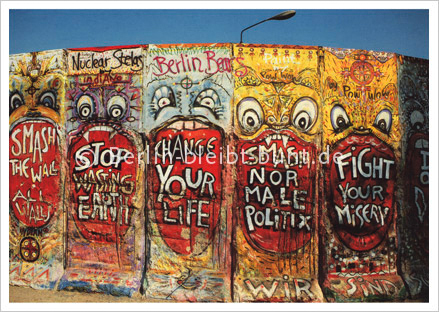 Postkarte GS-174 / Berlin - The Berlin Wall