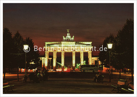 Postkarte GS-140 / Berlin - Brandenburger Tor