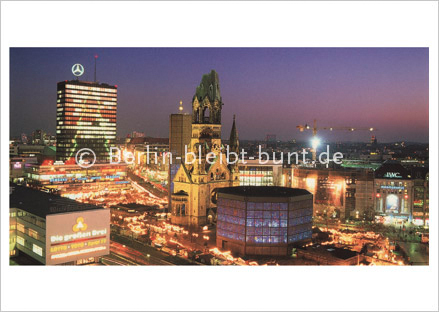 Postkarte GS-165 / Berlin-City