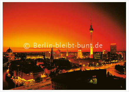Postcard GS- 138/ Berlin - Panorama