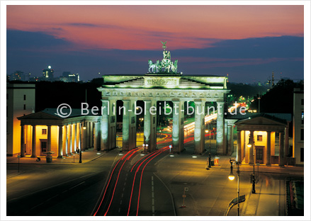 Postkarte GS-117 / Berlin - Brandenburger Tor