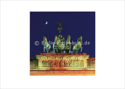 Postkarte GS-183 / Berlin-Brandenburger Tor