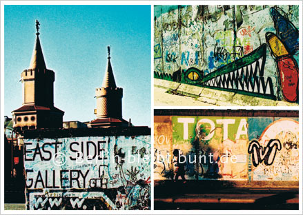 Postkarte GS-210 / Berlin-East Side Gallery