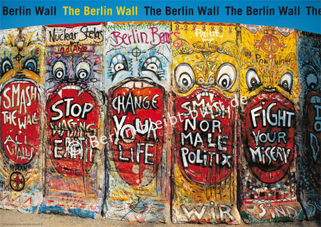 Poster 174 / Berlin - The Wall
