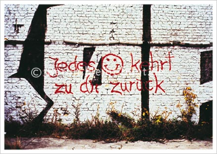 Postkarte GS-216 / Berlin - Graffity