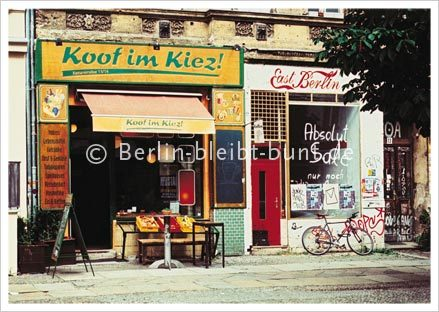 Postcard GS-218 / Berlin - Kiez
