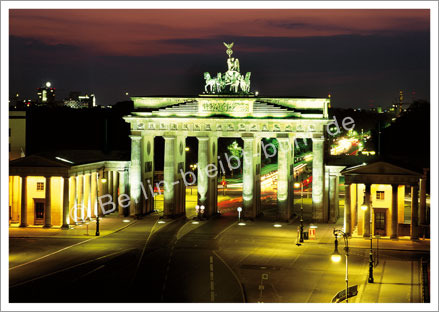 Postkarte GS-243 / Berlin - Brandenburger Tor