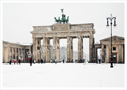 Postkarte GS- 280 / Berlin-Brandenburger Tor