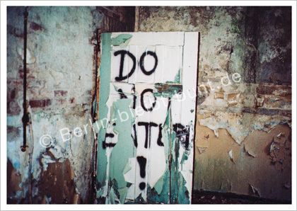 Postkarte GS-296 / Berlin - Do not enter