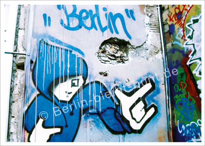 postcard GS - 294 / Berlin - Graffity