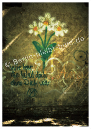 Postkarte GS - 313 / Berlin - Graffity