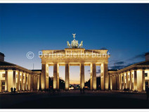 Postkarte GS-228 / Berlin - Brandenburger Tor