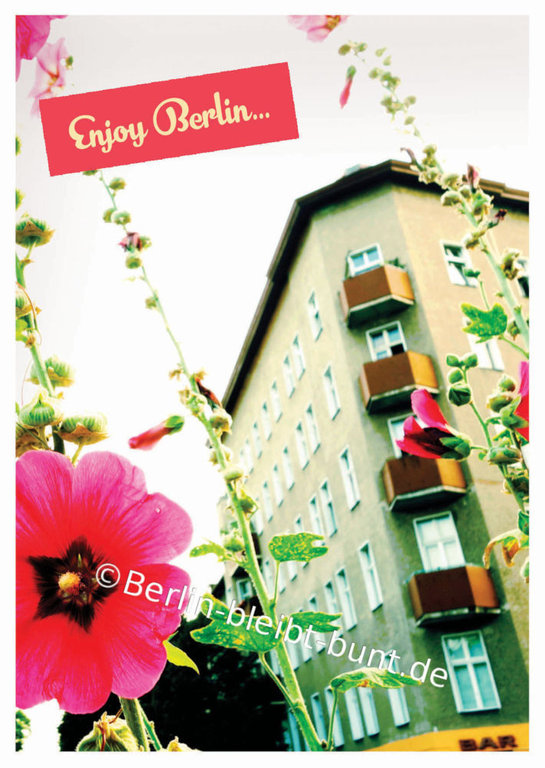 Postkarte GS-332 / Enjoy Berlin