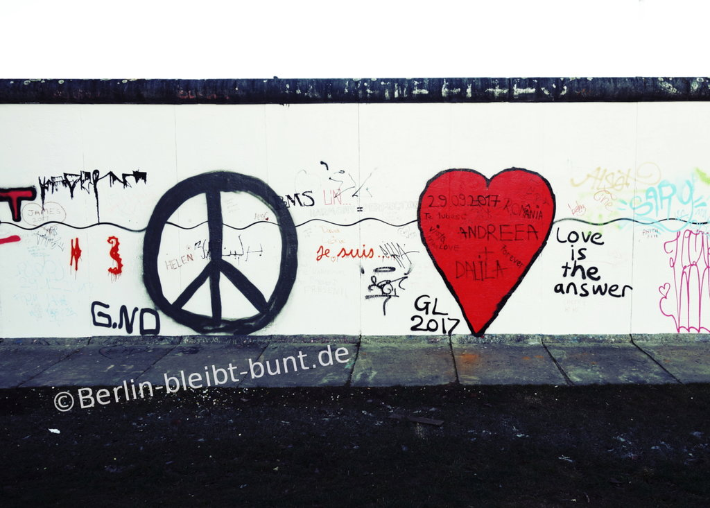 Postkarte GS-341 / Berlin - East Side Gallery